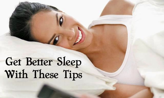 Get Better Sleep tips
