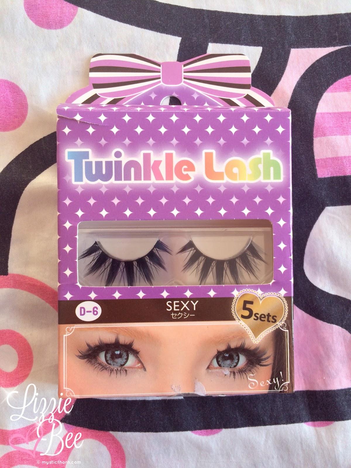 twinkle lash sexy eye gyaru lashes