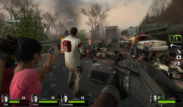 تحميل لعبة Left 4 Dead مضغوطة من ميديا فاير