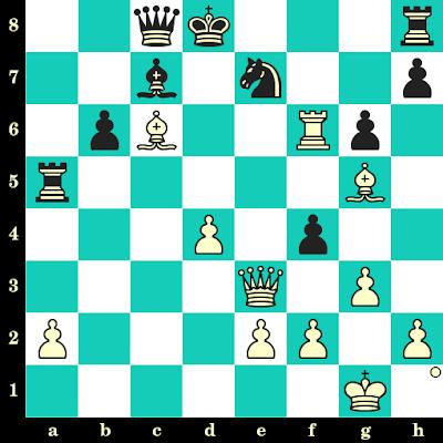 Les Blancs jouent et matent en 2 coups - Svein Johannessen vs David Levy, Siegen, 1970