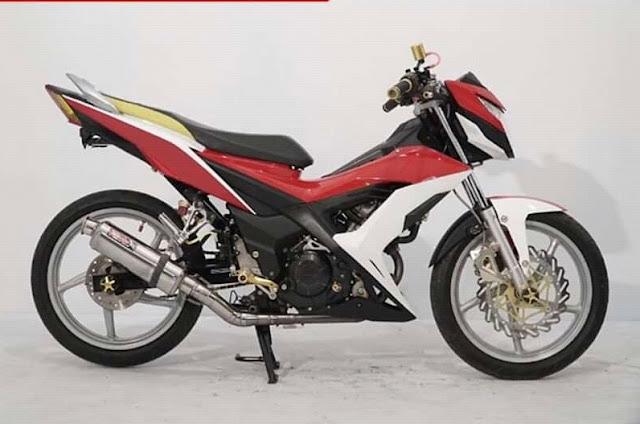 Ukuran Ban Standar Honda Sonic 150