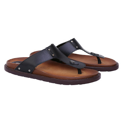 Sandal Kulit Pria Casual Catenzo KR 011