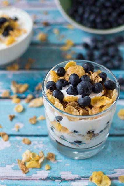 #Blueberry #Yogurt #Parfait
