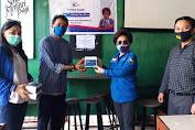 IKPM Gontor Cabang Sulut Terima 30 Alat Rapid Test dari Noorjte Van Bone