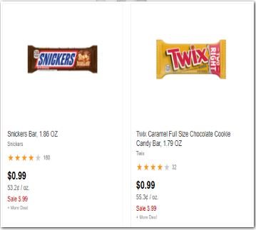 Mars Chocolate Bar CVS Deals
