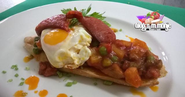 Tosta Flamenca con Huevos