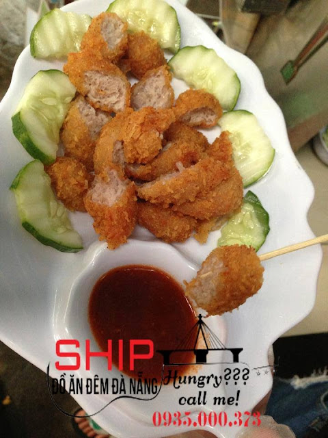 Nem chua ran Ha Noi - Ship do an dem Da Nang
