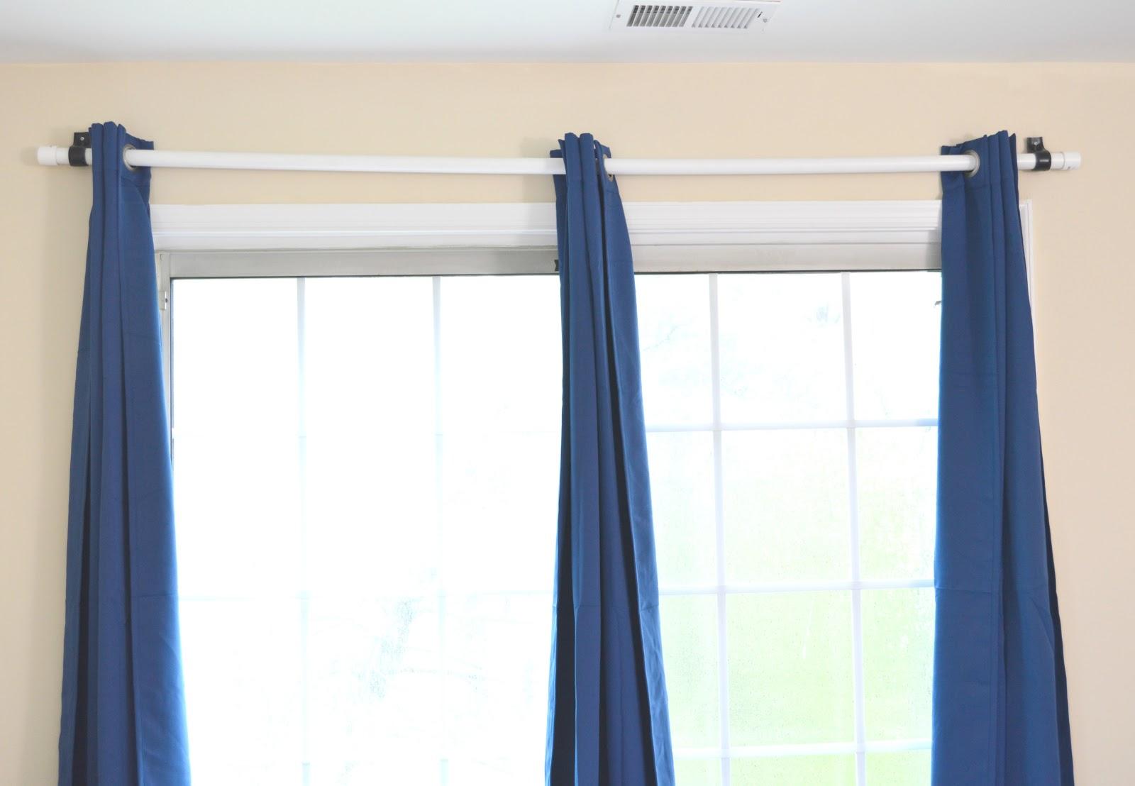 Vikalpah Cheapest DIY curtain rod using pvc pipe