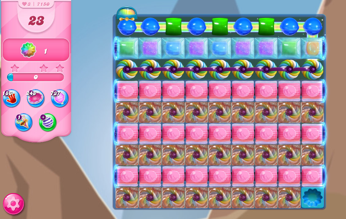Candy Crush Saga level 7150