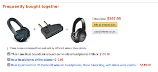 Amazon related recommendations
