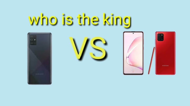 Samsung Galaxy A71 and Samsung Galaxy Note 10 Lite which one is the king?