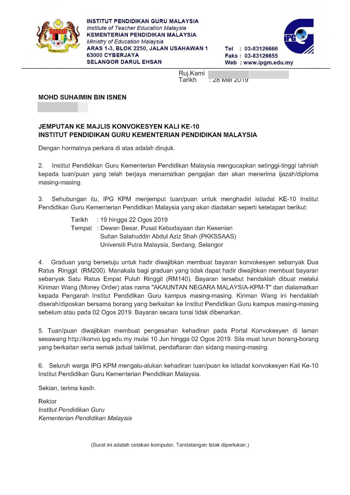 Kronologi Pelantikan Pegawai Perkhidmatan Pendidikan Gred Dg41