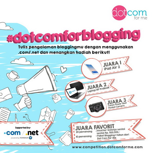 Dotcom-for-blogging