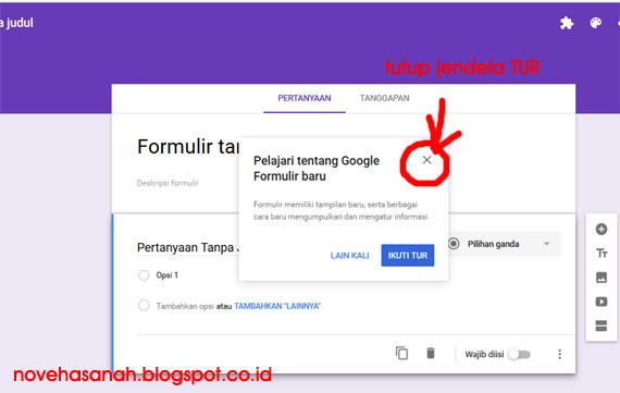 cara membuat soal atau kuis online di google drive untuk ujian atau tes siswa sangat mudah. baca tutorial ini 8