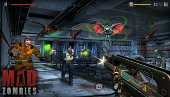 تحميل لعبة mad zombies مهكرة
