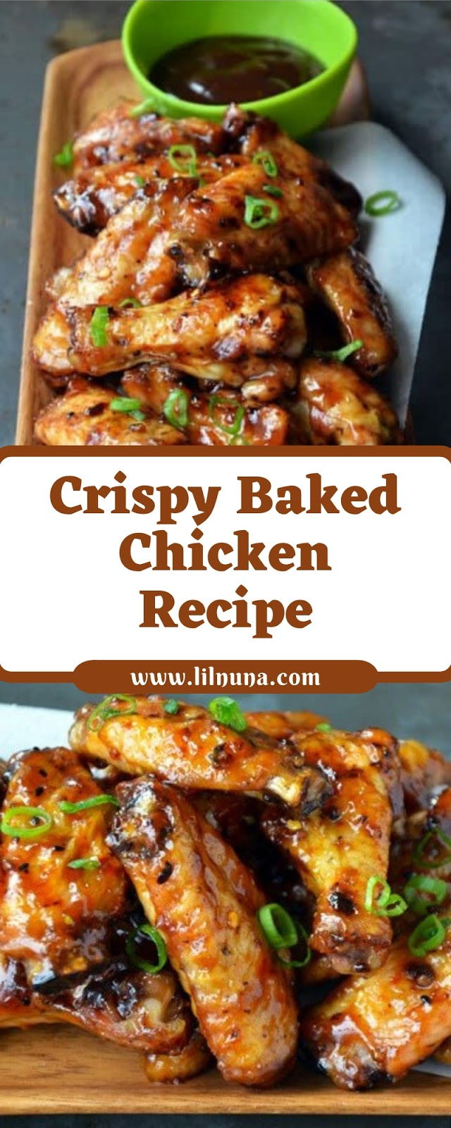 Crispy Baked Chicken Recipe