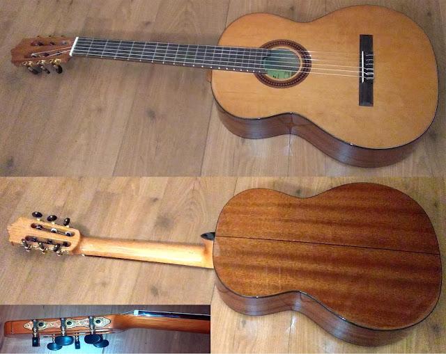 Guitarra española Martinez MCG 48