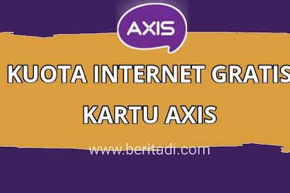Axis: Cara Dapat Kuota Internet Gratis, Tanpa Syarat!