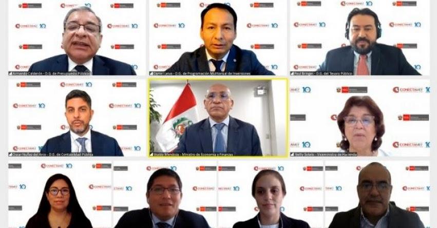 MEF: Ministerio de Economía capacitó en gestión del gasto público a más de 4 mil funcionarios de gobiernos regionales y locales