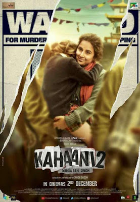 Watch Online Bollywood Movie Kahaani 2 2016 300MB DVDRip 480P Full Hindi Film Free Download At WorldFree4u.Com