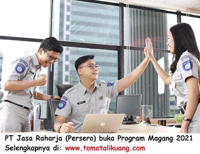Jasa Raharja Buka Rekrutmen Magang 2021 Petugas Administrasi bidang Sekretariat tomatalikuang.com.jpeg