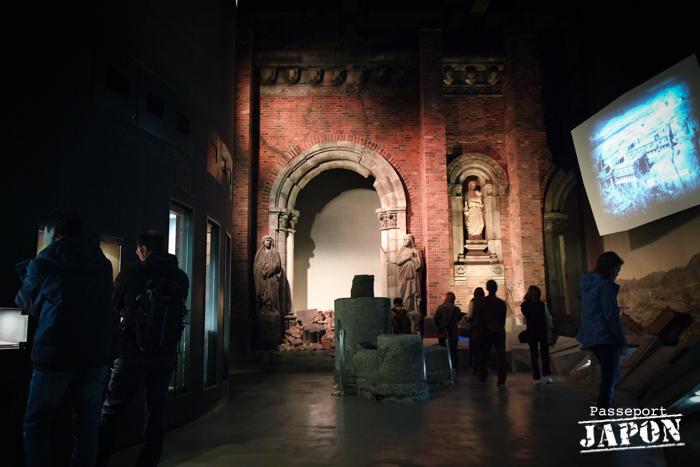 Salle des décombres, musée de la bombe atomique, Nagasaki