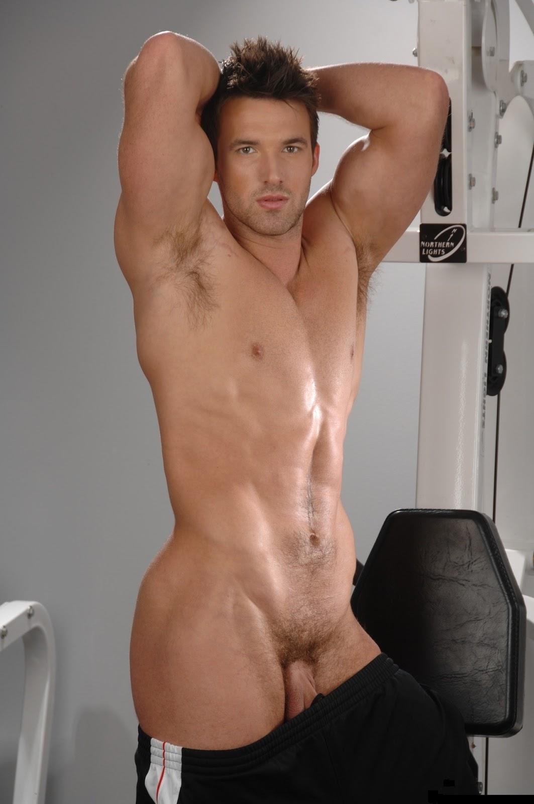 Sportsman Bulge Naked  Gym Cockout-1514