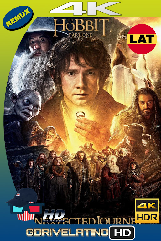 El Hobbit : Un Viaje Inesperado (2012) BDRemux 4K HDR EXTENDED EDITION Latino-Ingles MKV