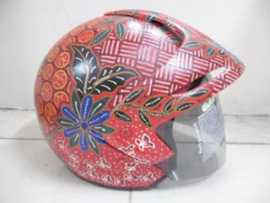 Batik Unik Helm