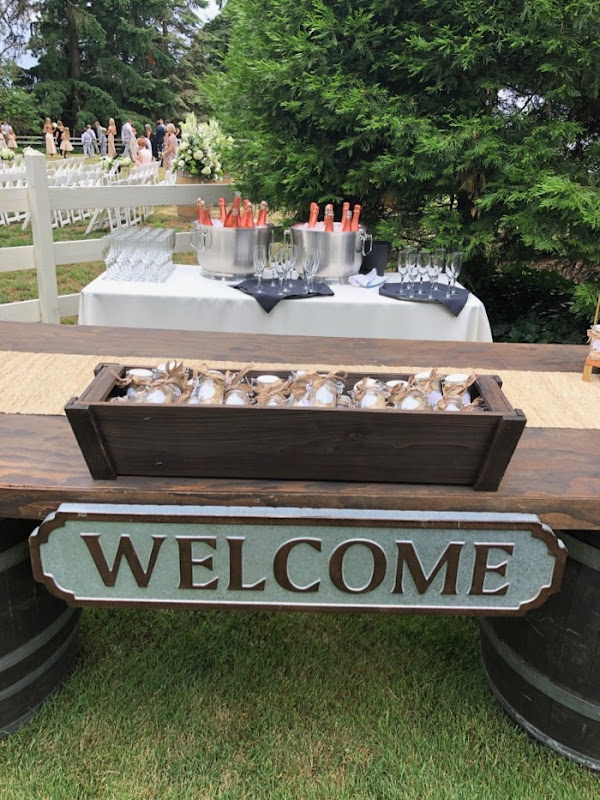 Oregon Wedding welcome