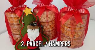 Parcel / hampers adalah salah satu bisnis yang menguntungkan saat moment Natal