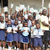 Orhuwhorun Elite Forum Presents Writing Materials To Primary School Pupils ~ Truth Reporters