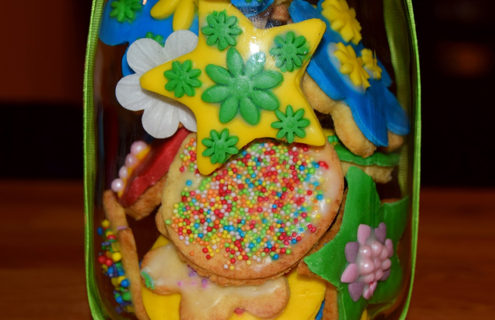 Homemade Mother's Day Cookie Jar