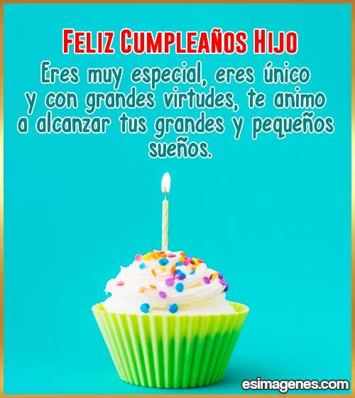 cumpleaños del hijo