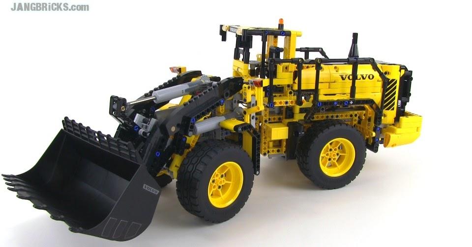 lego technic volvo l350f wheel loader 42030 video review. Black Bedroom Furniture Sets. Home Design Ideas