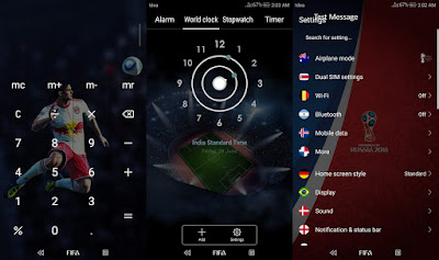 Download FIFA World Cup 2018 Special Edition Theme for EMUI 5 users, Huaweiemuithemes, Themes for huawei emui, Themes for Honor, Tema untuk Huawei Emui
