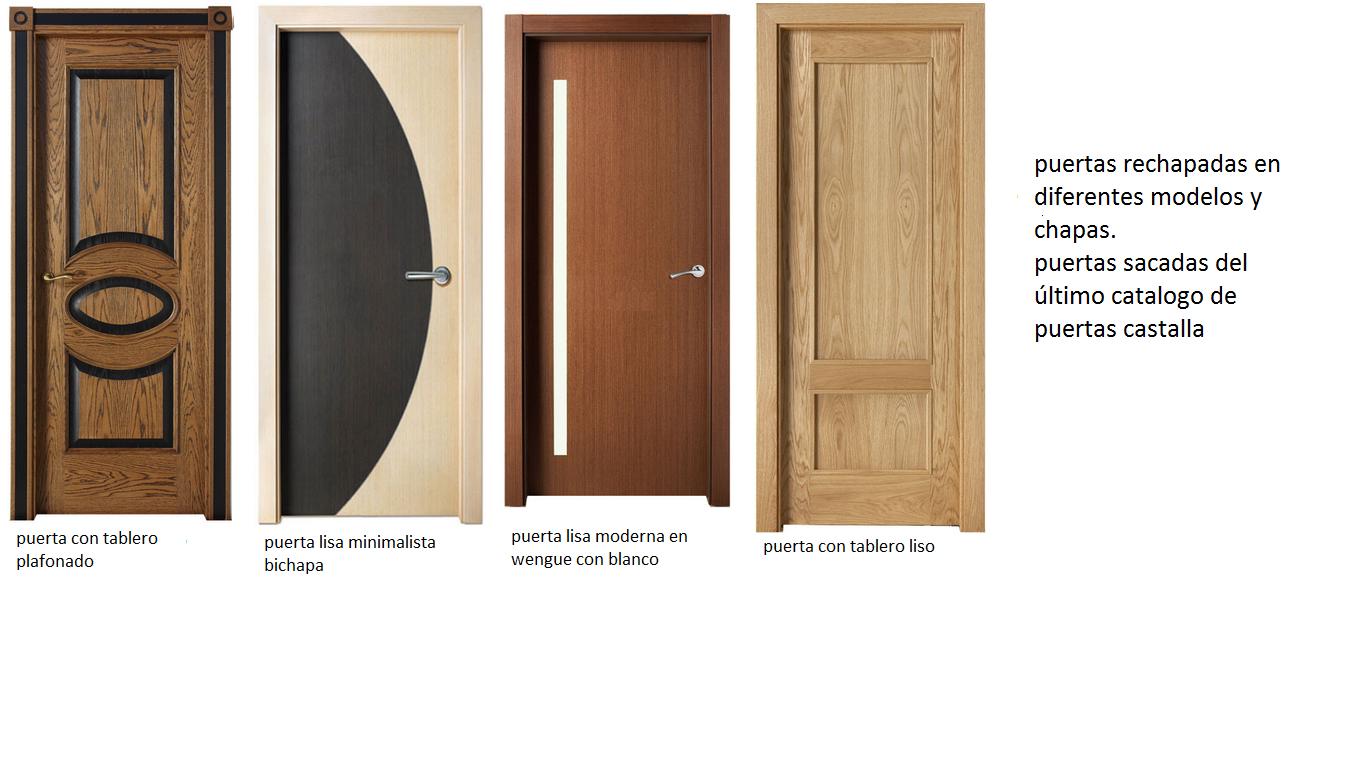Puertas de interior macizas for Puertas modernas interior precios