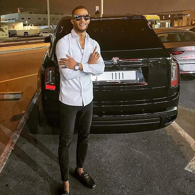 محمد رمضان ينشر صورة سيارته الجديدة رولزرويس 2020 مؤكدا أشتراها من دبي