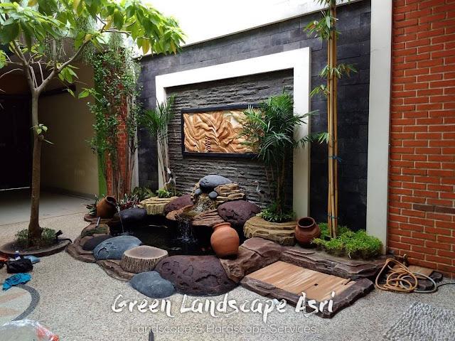 Jasa Pembuatan Relief Kolam Tebing Pasuruan   Tukang Dekorasi Relief Taman