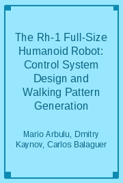 The Rh-1 Full-Size Humanoid Robot: Control System Design and Walking Pattern Generation