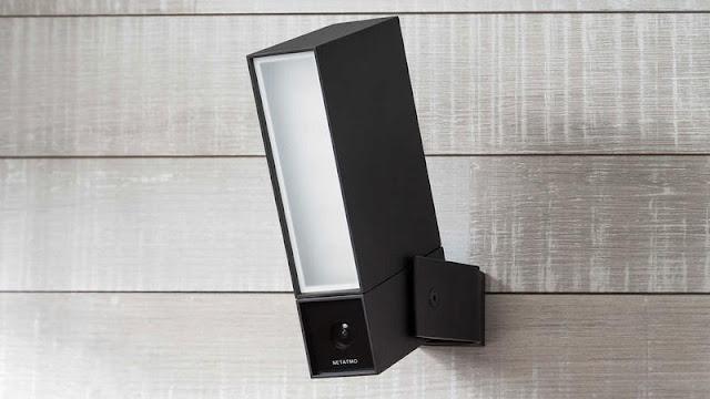 6. Netatmo Smart Outdoor Camera with Siren