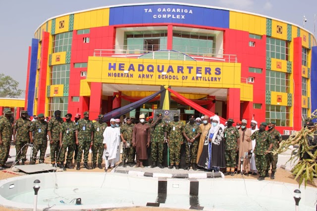 Buratai Inducts New Artillery Guns, Inaugurates New Army School of Artillery Headquarters Complex