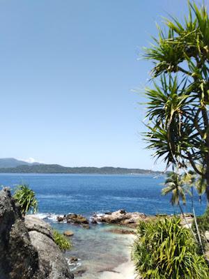 Salah satu sudut Ujung Kacakachu Pulau nasi