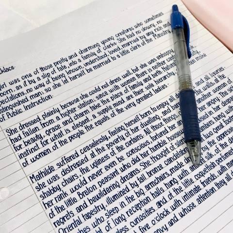 Saking Rapinya, Tulisan Tangan Wanita Ini Mirip Hasil Ketikan di Komputer