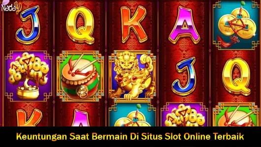 Keuntungan Saat Bermain Di Situs Slot Online Terbaik