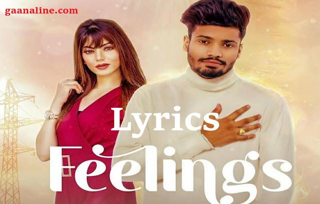 Feelings Lyrics In Hindi-  Sumit Goswami.