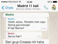 Nih Sob Isi Chat Grup Whatsapp Negara Negara di 16 Besar Euro 2016