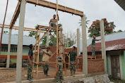 TMMD-110, Pembangunan Balai Pengajian Merupakan Wujud Kepedulian TNI Didalam Pendidikan Islam