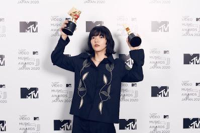 Pemenang video terbaik terbaik MTV VMAJ 2020 dimenangkan oleh Aimyon dengan lagu Hadaka no Kokoro