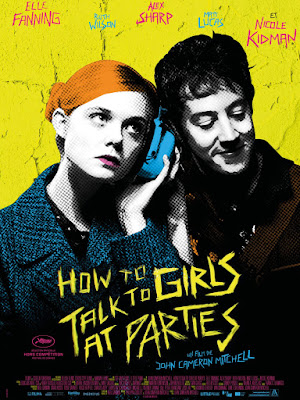 How To Talk To Girls At Parties Movie poster 2
